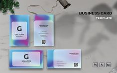 Galadan - Business Card Template Business Card Design, Business Cards, Visiting Card Design, Corporate Identity, Templates, Creative, Lipsense Business Cards, Stencils, Vorlage
