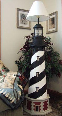 Cape Hatteras Lighthouse Floor Lamps