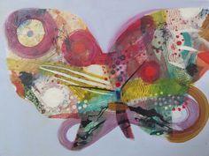 becky blair * artist - paintings: butterfly