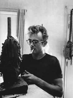 James Dean sculpting