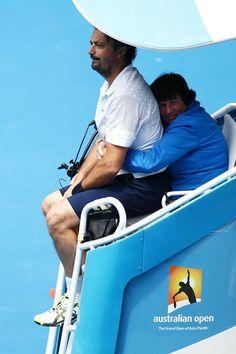 Henri Leconte - Australian Open: Day 9 more news: http://henri-leconte.com/en/hl/cities/melbourne