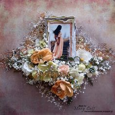Mary's Crafty Moments: ''Gorgeous'' - DT Layout for The Dusty Attic Blog ...