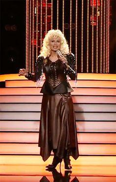 Dalibor Gondik femulates Dolly Parton on Czech Republic television's Your Face Sounds Familiar.