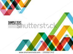 """""""Patrón de triángulos abstractos coloridos. Fondo, Cubierta, Diseño, Revista, Folleto, Cartel, Página web, Tarjeta de visita, etc"""""""