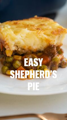 Easy Meat Recipes, Delicious Dinner Recipes, Fall Recipes, Cooking Recipes, Yummy Food, Easy Shepherds Pie, Canned Tomato Soup, Beef Meals, Western Food