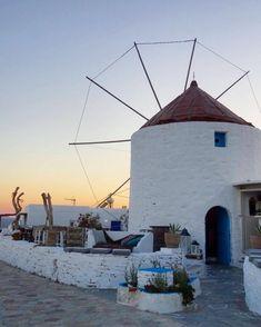 Koufonisia islands (Κουφονήσια) Greece Traditional windmill in the Cyclades ❤ Cyclades Islands, Greece Islands, Paros, Places In Greece, Visit Turkey, Mykonos Greece, Paradise On Earth, Thessaloniki, Greece Travel