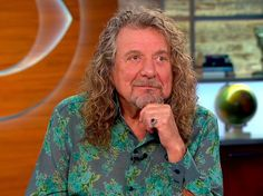 Robert Plant on CBS This Morning, Sept. 22, 2014 NYC