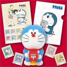 Japan Post Holdings releases a stamp set in commemoration of the 45th anniversary of Doraemon on September 16. Furthermore, the figure is attached to it. SO CUTE! The price is 4000yen.