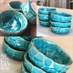 🍶POTTERY ACASSUSO Palermo, Serving Bowls, Pottery, Instagram, Tableware, Cold Porcelain, Hall Pottery, Dinnerware, Dishes
