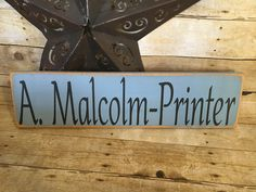 A personal favorite from my Etsy shop https://www.etsy.com/listing/515742759/a-malcolm-printer-jamie-fraser-sam