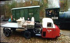 Scammell Scarab British Railways
