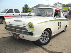 50 Years Ago Today Ford Launched The Cortina.   Pictured Is The Lotus Race Version.  Who Can Guess What Year?
