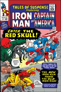 Iron Man & Captain America Cover Art For Tales of Suspense by Jack Kirby Marvel Comics Superheroes, Marvel Comic Books, Comic Books Art, Comic Art, Book Art, Marvel Vs, Marvel Heroes, Dc Comics, Vintage Comic Books