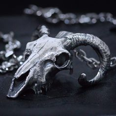 Hand crafted mid size silver ram skull pendant Highly detailed skull pendant by Mystique Jewellery www.mystiquejewellerystore.com #skull #skullpendant #ramskull #ramskullpendant #skulljewelry #skulljewellery #silverjewelry #silverskull #tattoo #menfashion #menjewelry #skullring #musician #metal #metalmusic #heavymetal #rockmusic #hipster #hiphop #fashionjewelry #mystiquejewellery