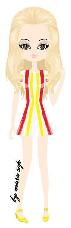 Brigitte Bardot in a 1970 dress by marasop on DeviantArt