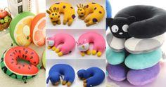 Ideias Incríveis e Divertidas de Travesseiros e Almofadas de Pescoço