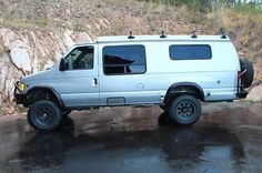ford e-series van camper | Ford E350 Sportsmobile Van 7.3ltr Turbo Diesel 4x4 (rv) - Used Ford E ...