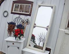 Alte fensterl den fenster princessgreeneye shabby chic onlineshop diy good ideas - Spiegel sprossenfenster ...