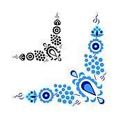Clipart - tradicional, gente, ornamento, aislado, blanco, fondo k15177025 - Buscar Clip Art, Ilustraciones de Murales,  imagenes y Vectores EPS e imágenes gáficas - k15177025.eps