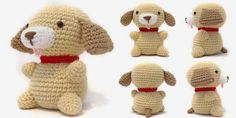 i crochet things: Free Pattern Friday: Puppy Amigurumi