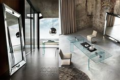 Philippe starck mirror and squares on pinterest for Miroir caadre philippe starck