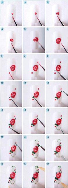 Как рисовать на ногтях в домашних