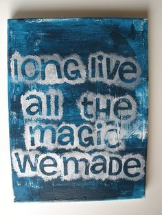 """Long live all the magic we made"" TSwift :)"