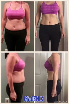 Connie's amazing results after 9 months of healthy eating Isagenix magic