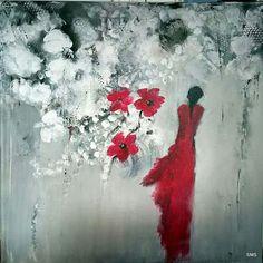 Solfrid M Skarseth  Akryl på lerret 70 * 70 Abstract Art, Art, Abstract, Painting