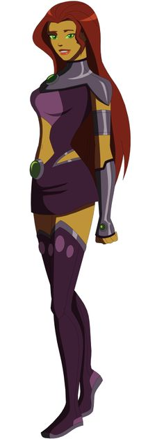 Young Justice Starfire 2 by AMTModollas on DeviantArt