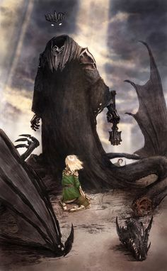 Éowyn and the Nazgûl by Micah Farritor #eowyn