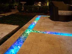 Glass Bottle Concrete Countertops   galaxy fiber optic concrete countertop galaxy fiber optic concrete ...