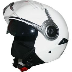 leopardo leo 612 dvs cara abierta scooter motocicleta moto casco blanco brillante - Categoria: Avisos Clasificados Gratis  Estado del Producto: Nuevo con etiquetas LEO612 DVS Open Face Helmet :Helmet Colour:Gloss WhiteECE 2205 APPROVED; Fitted with retractable outer clear visor and inner sun visor; High quality ABS, high density EPS; Removable and washable liner; Adjustable and convenient chin strap buckle release strap; Complete with helmet bag; Brand new in box; LEO612 DVS Open Face Helmet…