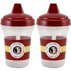 Florida State Seminoles (FSU) 2-Pack 5oz. Sippy Cups