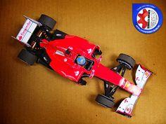 Íme a várva-várt Ferrari F2012 Alonso sisakjával! Készítsd el a sajátod!   Here's the long-awaited Ferrari F2012 with Alonso's helmet. Make yours!
