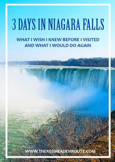 Recently I went on a trip to Canada to see Niagara Falls and while I did enjoy my 3 day trip, there were a few things I wished I would have known beforehand. To spare all our you the mishaps that I encountered, I created a list for you of what I would do …