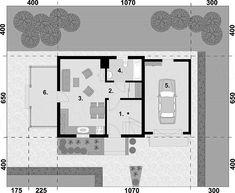 Projekt domu Orlean 5 dom letniskowy z poddaszem 57,43 m2 - koszt budowy 67 tys. zł - EXTRADOM House, Home, Homes, Houses