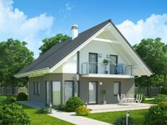 Pavla 9 | Ekonomické stavby Home Fashion, Beach House, House Plans, Shed, House Design, Outdoor Structures, How To Plan, House Styles, Outdoor Decor
