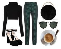 """saturday morning"" by redapplecigarettes ❤ liked on Polyvore featuring Valentino, Mary Katrantzou, Jimmy Choo, Eddie Borgo and Spitfire"