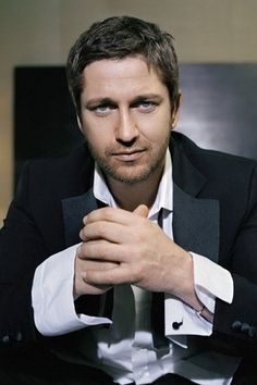 Gerard Butler. Musical, versatile, Scottish. I WANT TO LICK HIIIIIIMMMMMMM in a creepy fangirl way, not a naughty way.