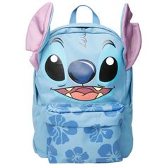 Disney Lilo & Stitch Hibiscus Backpack | Hot Topic (36 CAD) ❤ liked on Polyvore