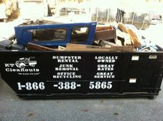 If you are looking for Dumpster Rentals in Lowell,Chelmsford,Tyngsboro or Dracut then you must call KTCleanouts.com right now to get best Dumpster Rental Rates .Call now to get all your questions answered by this Local dumpster rental .You get affordable Dumpster Rental Pricing along with great service from KTCleanouts .