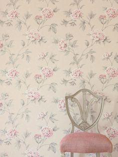 Colefax and Fowler Karina Wallpaper. Cowtan & Tout