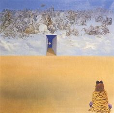 Battle In The Clouds Salvador Dali Date: 1974 Style: Surrealism Genre: symbolic painting