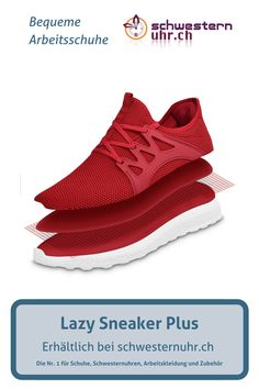 LazySneaker Plus Rot Yeezy Boost, Adidas Sneakers, Sport, Fashion, Comfortable Work Shoes, Total Black, Fitness Shoes, Workwear, Black Shoes