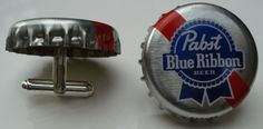 pbr cufflinks **links to etsy page with tons of cufflinks and tie clips
