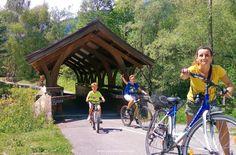 Val Pusteria con i bambini-pista ciclabile Dobbiaco-Lienz