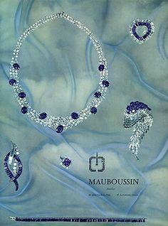 Mauboussin (Jewels) 1963 Set of Jewels