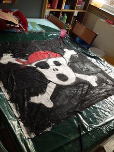 Samen een vlag maken!