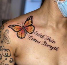 Girl Thigh Tattoos, Forarm Tattoos, Shoulder Tattoos For Women, Leg Tattoos, Sleeve Tattoos, Tatoos, Navy Tattoos, Quote Tattoos, Spine Tattoos
